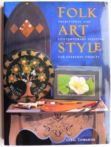 Folk Art Style by Sybil Edwards